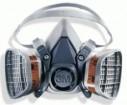 - 3M 6200 YarımYüz Gaz Maskesi 0070 21