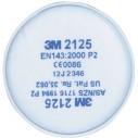 - 3M 2125 Toz-Sis-Duman Filtresi Ped P2 0075 61