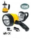 - İthal Şarjlı El Feneri & Kamp Lambası 0011 63-1